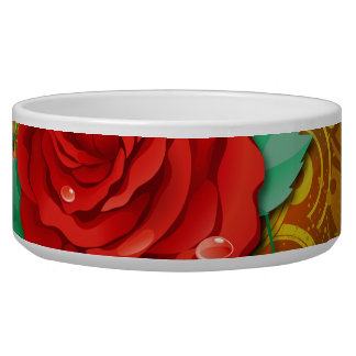 Abstract Art 41 Pet Bowl