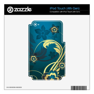 Abstract Art 43 MP3 Player Skin iPod Touch 4G Decals