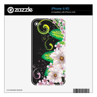 Abstract Art 45 Phone Skin Skin For iPhone 4