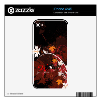 Abstract Art 47 Phone Skin Decals For The iPhone 4S
