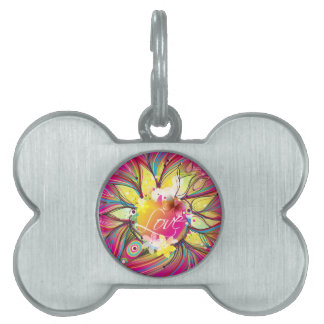 Abstract Art 60 Pet Tags