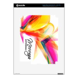 Abstract Art 7 i Pad Skin iPad 3 Decals