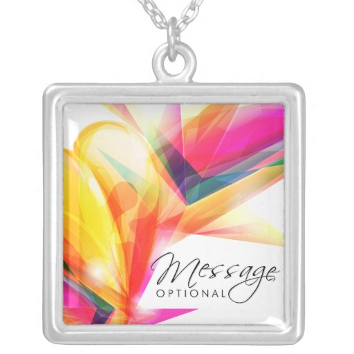 Abstract Art 7 Necklace