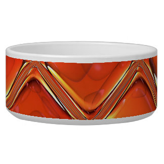 Abstract Art 88 Pet Bowls