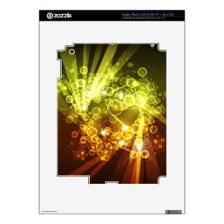 Abstract Art 8 i Pad Skin iPad 3 Decals