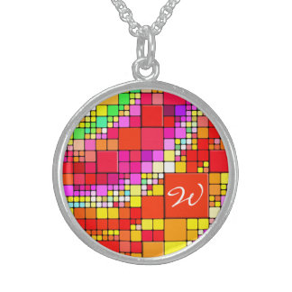 Abstract Art 93 Necklace