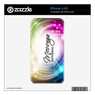 Abstract Art 9 Phone Skin iPhone 4S Decal