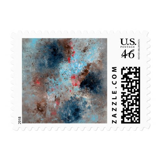 Abstract Art - Absence Postage Stamps