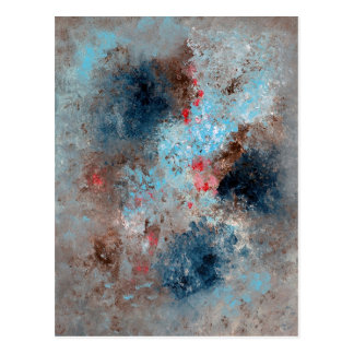 Abstract Art - Absence Postcard