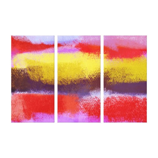 Abstract Art | Abstract Painting Canvas Print