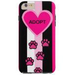 Abstract Art Adopt a Pet Design I pHone Case Tough iPhone 6 Plus Case