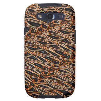 Abstract Art Amber Galaxy S3 Cases