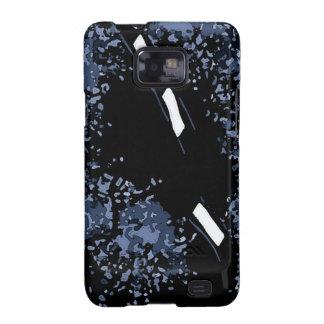 Abstract Art Artic Black Galaxy S2 Case