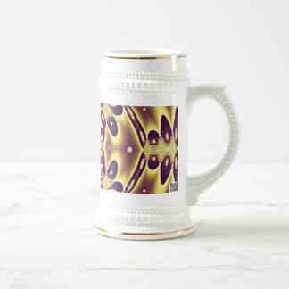 Abstract Art Autumn Mirrors Beer Stein