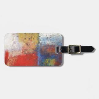 Abstract Art Bag Tags