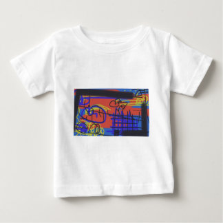 Abstract Art | Barbed Wire Baby T-Shirt