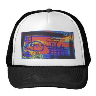 Abstract Art | Barbed Wire Trucker Hat