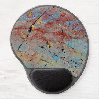Abstract Art - Battlegrounds Gel Mousepad