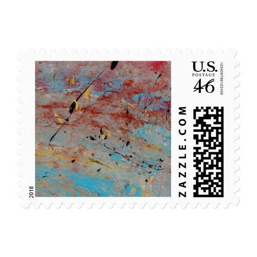 Abstract Art - Battlegrounds Stamps