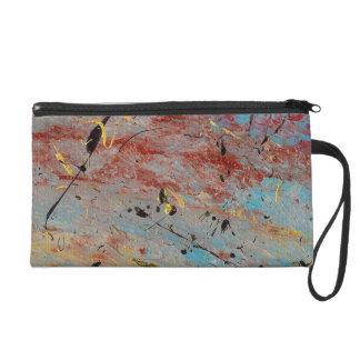 Abstract Art - Battlegrounds Wristlet