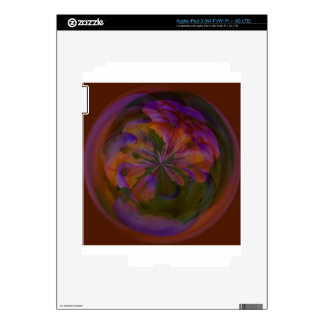 Abstract art beautiful design iPad 3 skin