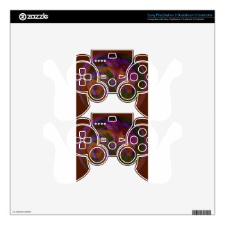 Abstract art beautiful design skins for PS3 controllers