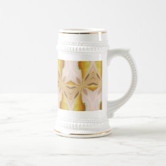 ABSTRACT ART BEER STEIN