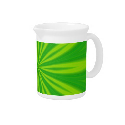 ABSTRACT ART BEVERAGE PITCHERS