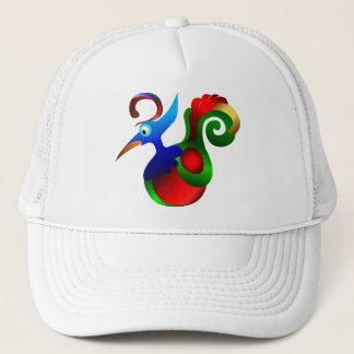 Abstract Art Bird of Paradise Trucker Hat