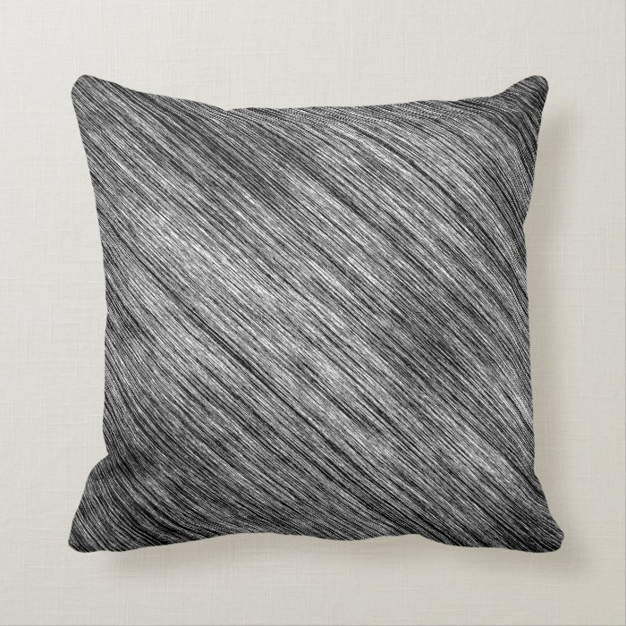 Abstract Art Black And White Background Throw Pillow Zazzle