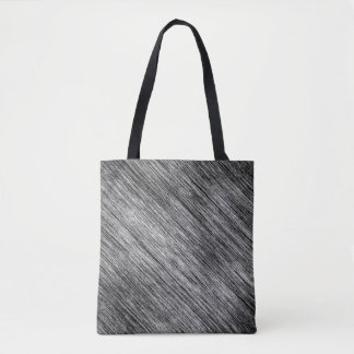 Abstract Art Black And White Background Tote Bag