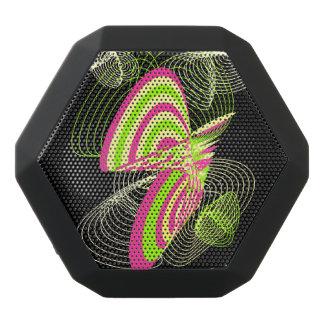 Abstract Art Black Bluetooth Speaker
