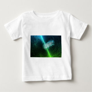 Abstract Art Blue and Green Baby T-Shirt