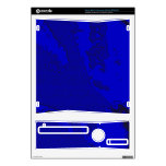 Abstract Art Blue Decal For The Xbox 360 S