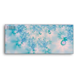 Abstract Art Blue Meditation Envelope