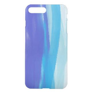 Abstract Art blue stripes iPhone 8 Plus/7 Plus Case