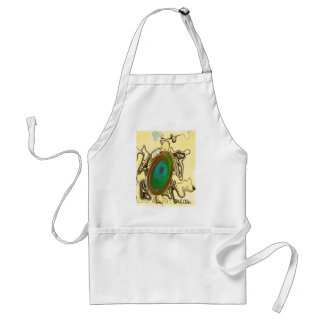 Abstract Art | Brown Agate Adult Apron