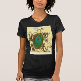 Abstract Art   Brown Agate T-Shirt