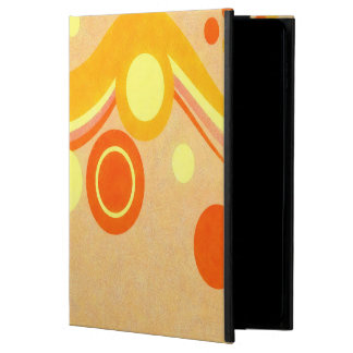 Abstract Art Brown Background Yellow And Orange Powis iPad Air 2 Case