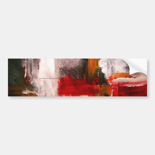 Abstract Art Bumper Sticker