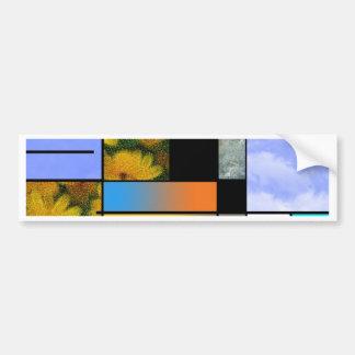 Abstract Art Car Bumper Sticker