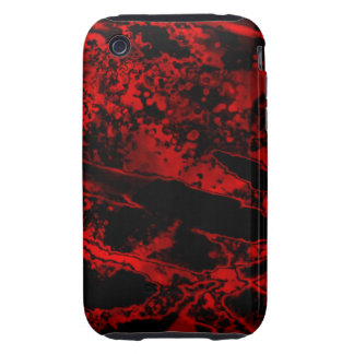 Abstract Art Burn iPhone 3 Tough Cover