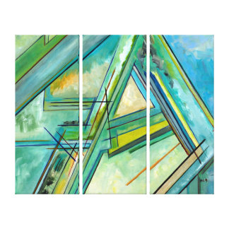 Abstract Art Business Affordable Deco Multi Panels Canvas Print