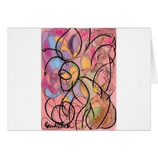 Abstract Art | Buzzin Card