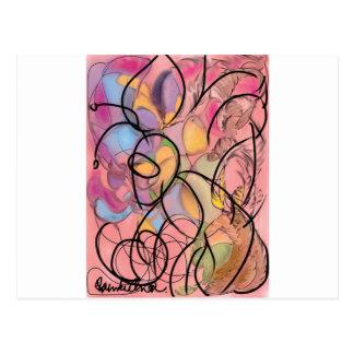 Abstract Art | Buzzin Postcard