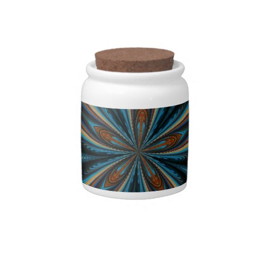 ABSTRACT ART CANDY JARS