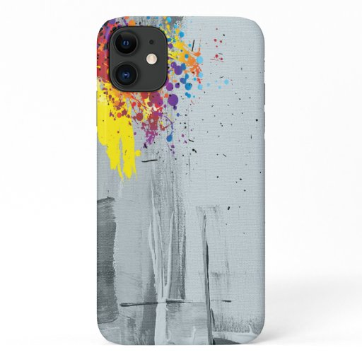 Abstract art iPhone 11 case