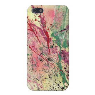 Abstract Art - Champagne iPhone SE/5/5s Cover