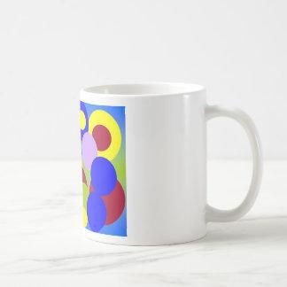 Abstract Art - Circles Amongst Clouds Coffee Mugs