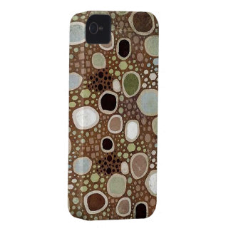Abstract Art Circles Blackberry Bold 9700/9780 iPhone 4 Case